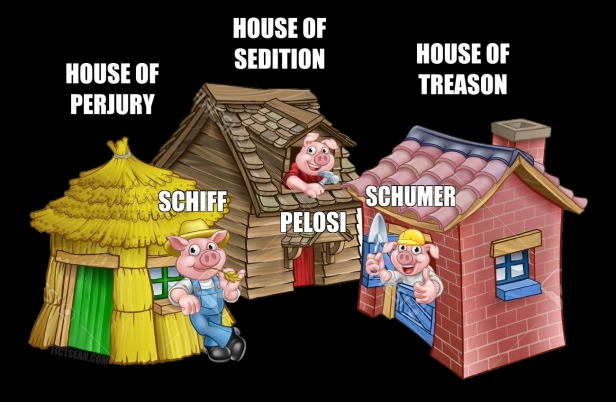 Three Blind Mice Little Pigs 3 Schiff Pelosi Schumer Meme.jpg