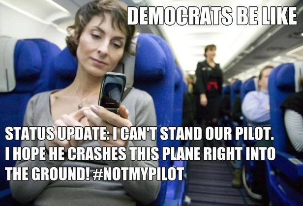 ! . Woman in Airplane Smart Phone Hope the Not My Pilot Crashes REMASTERED