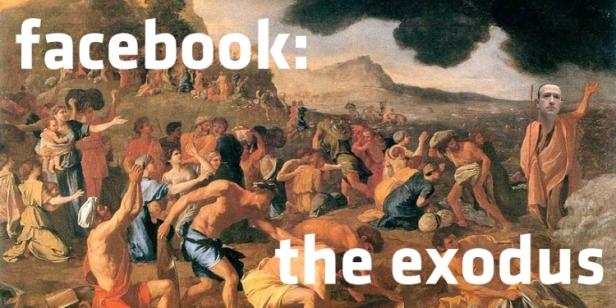 Exodus Facebook Poussin-Main