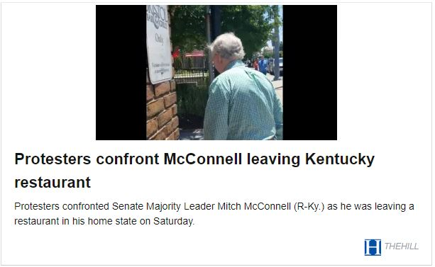 180707 Liberals accost Mitch McConnell2