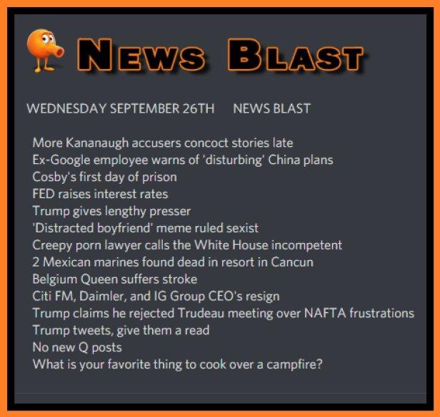 180926 News Blast by ENoCH