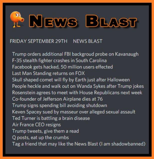 180929 News Blast by ENoCH
