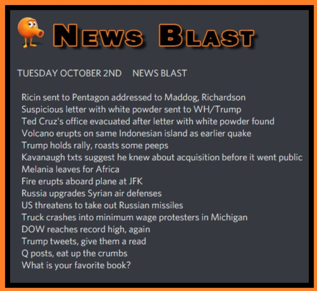 181002 News Blast by ENoCH