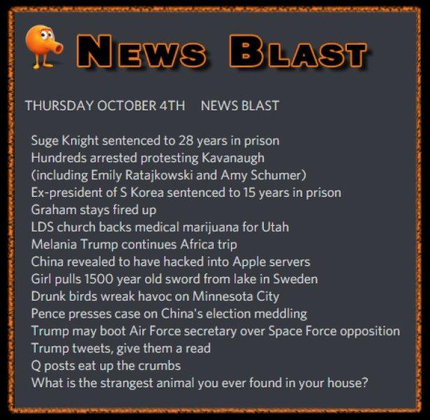 181004 News Blast by ENoCH