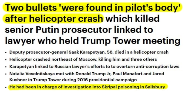 181005 Russian Who Had Information Leading to the Arrest of Hillary Clinton KILLED2aHL