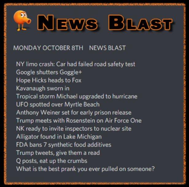 181008 News Blast by ENoCH