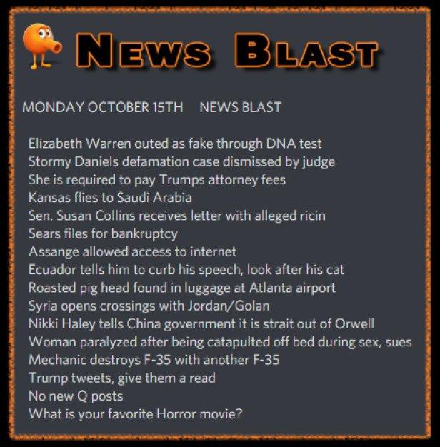 181015 News Blast by ENoCH