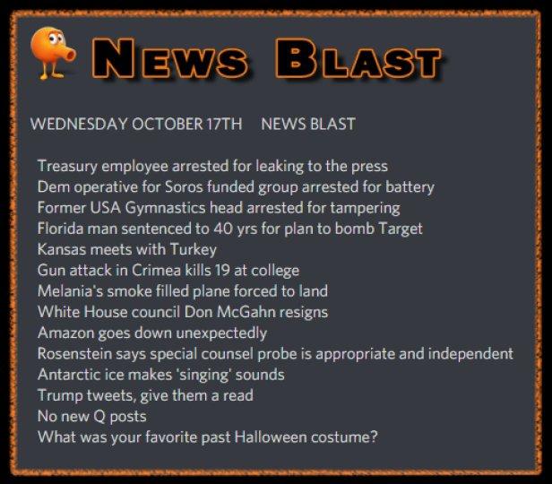 181017 News Blast by ENoCH