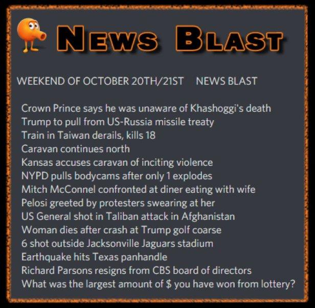 181020 News Blast by ENoCH