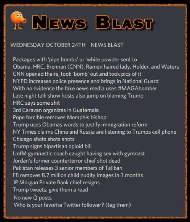 181024 News Blast by ENoCH