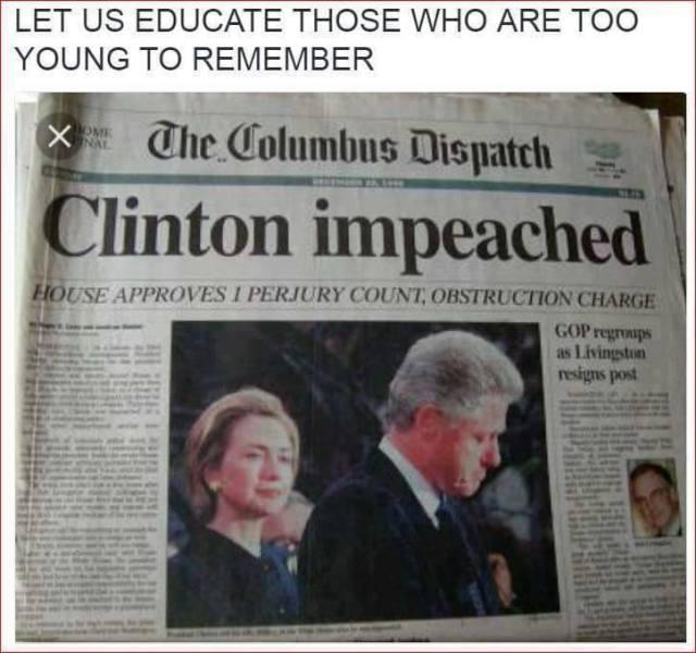 Bill Clinton Impeached