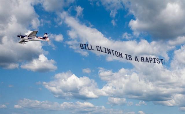 BillClintonRapist