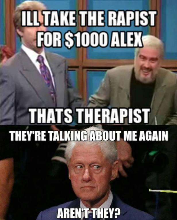 Therapsts The Rapists Bill Clinton