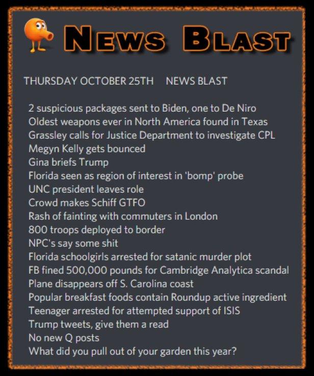 181025 News Blast by ENoCH