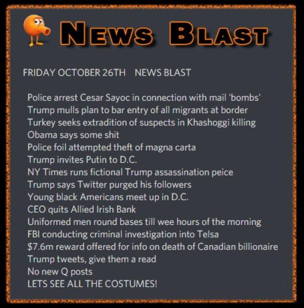 181026 News Blast by ENoCH