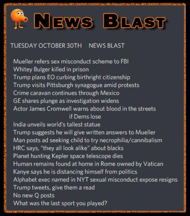 181030 News Blast by ENoCH