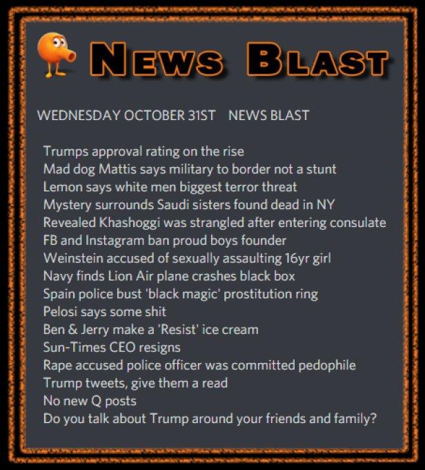 181031 News Blast by ENoCH