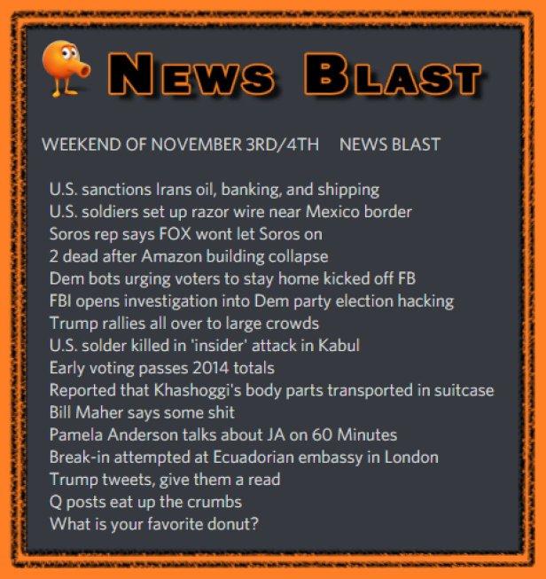 181103-4 News Blast by ENoCH