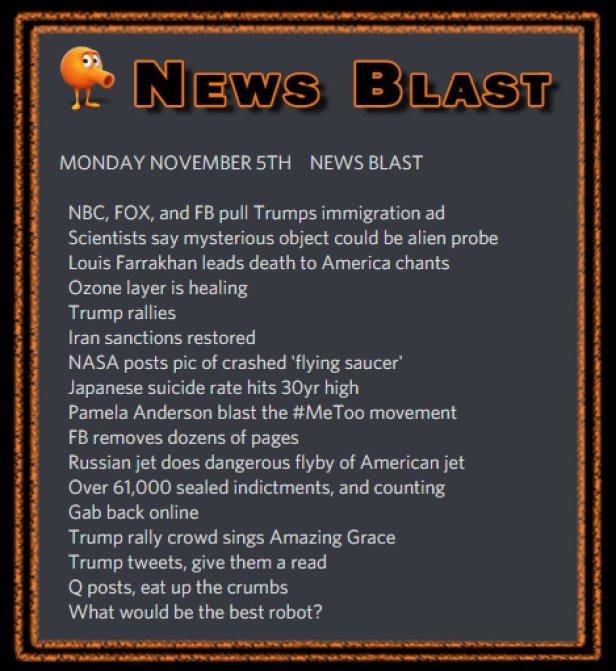 181105 News Blast by ENoCH