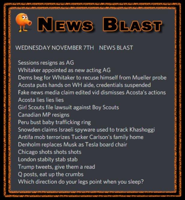 181107 News Blast by ENoCH