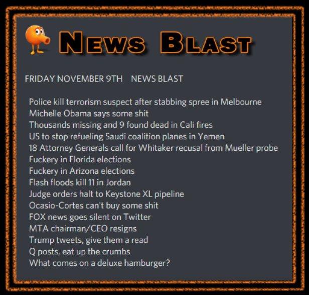 181109 News Blast by ENoCH