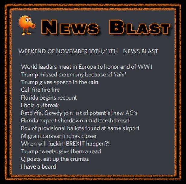 181110-11 News Blast by ENoCH