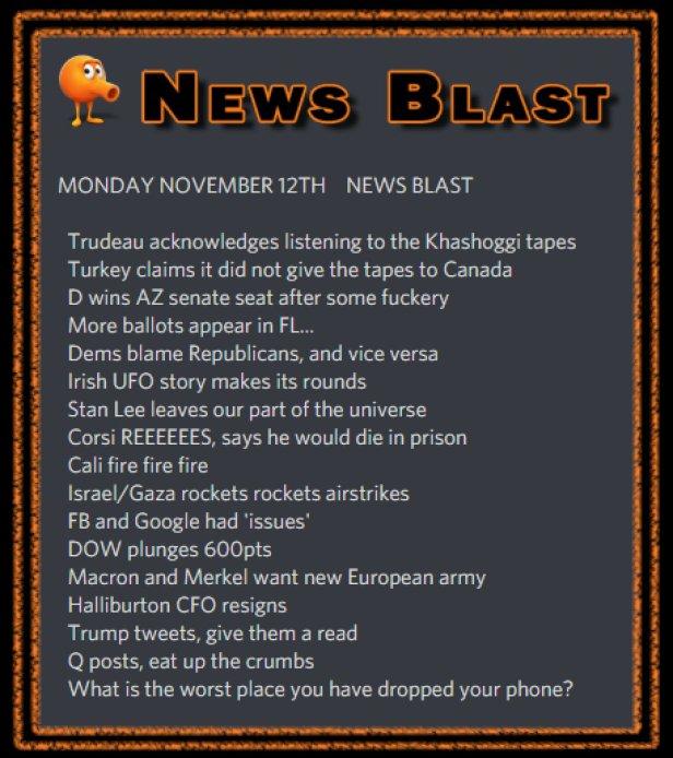 181112 News Blast by ENoCH