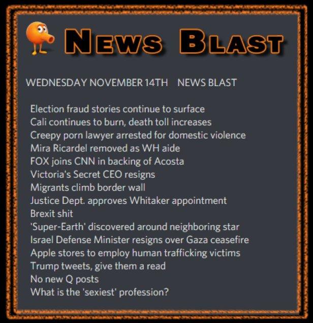 181114 News Blast by ENoCH