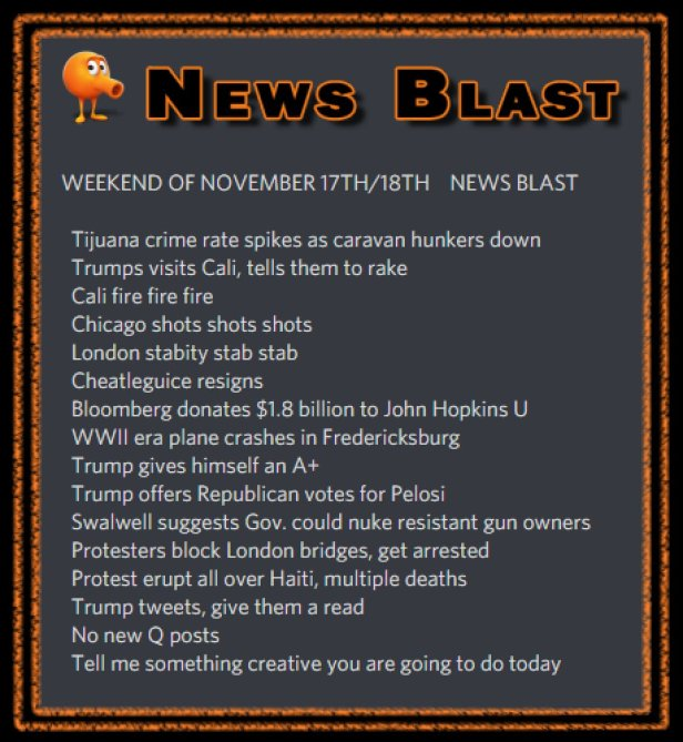 181117-8 News Blast by ENoCH