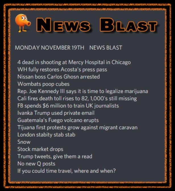 181119 News Blast by ENoCH