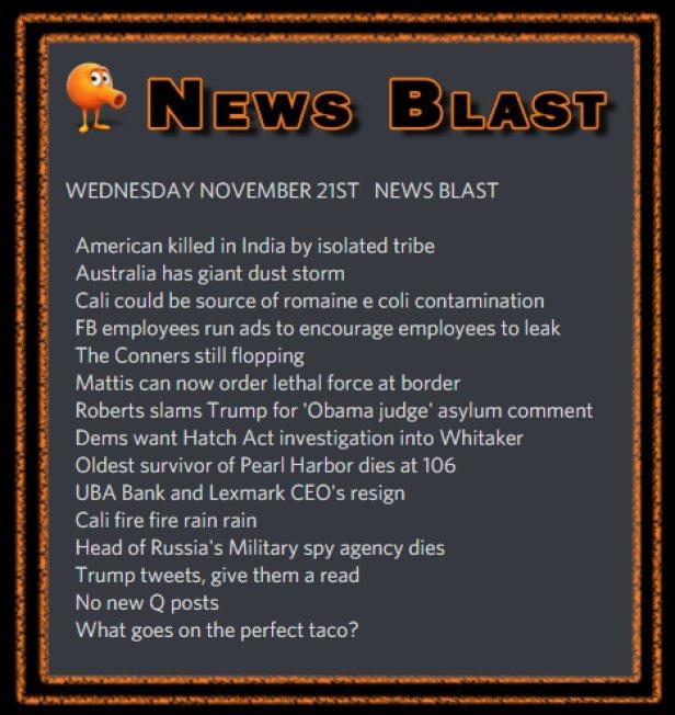 181121 News Blast by ENoCH