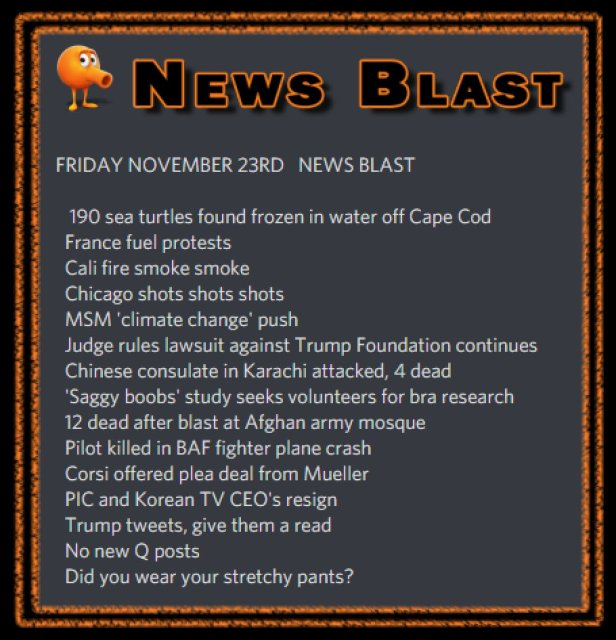 181123 News Blast by ENoCH