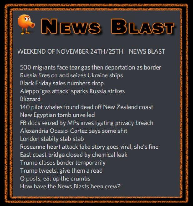 181124-5 News Blast by ENoCH
