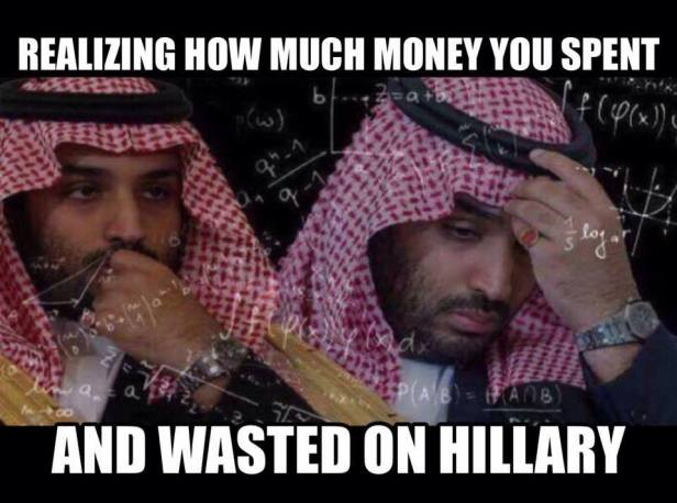 ! Analyzing how much money wasted on Hillary