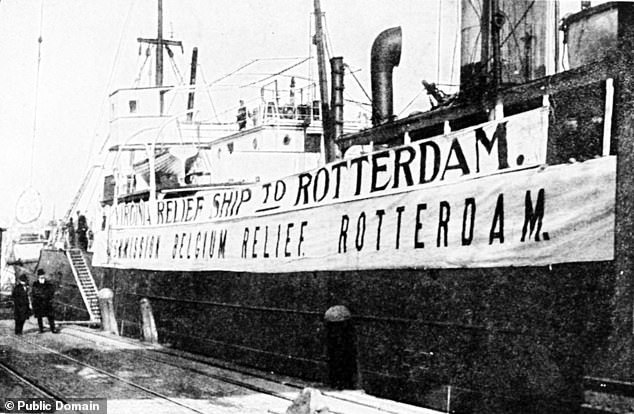 Belgian Relief WW1