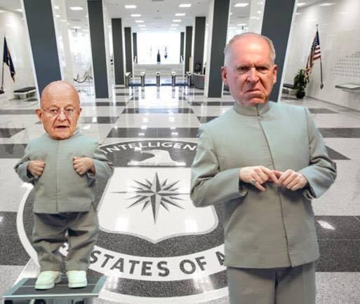! Clapper Minime Brennan Dr Evil