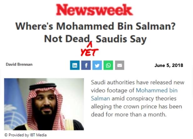 Mohammed bin Salman Newsweek