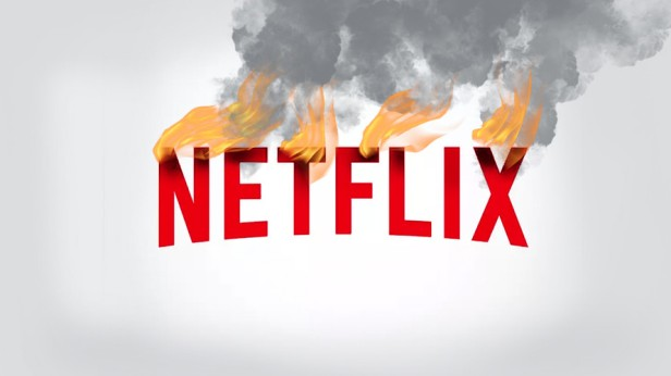 Netflix on Fire Logo