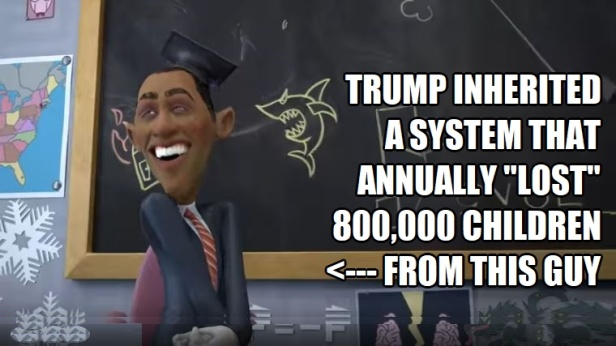 ! Trump Inherited 800,000 from Obama I PET GOAT II