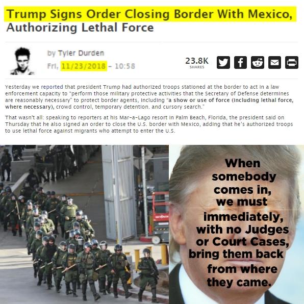 181123 Trump Shuts Down Mexican Border MEME