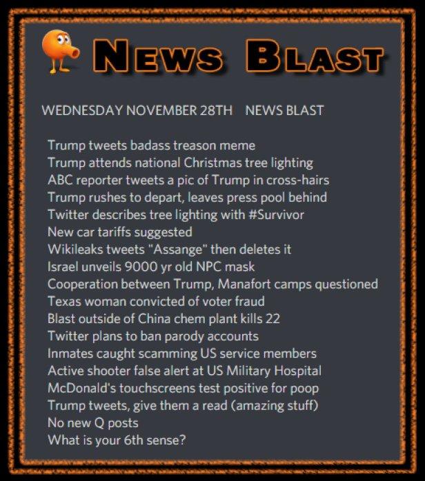 181128 News Blast by ENoCH