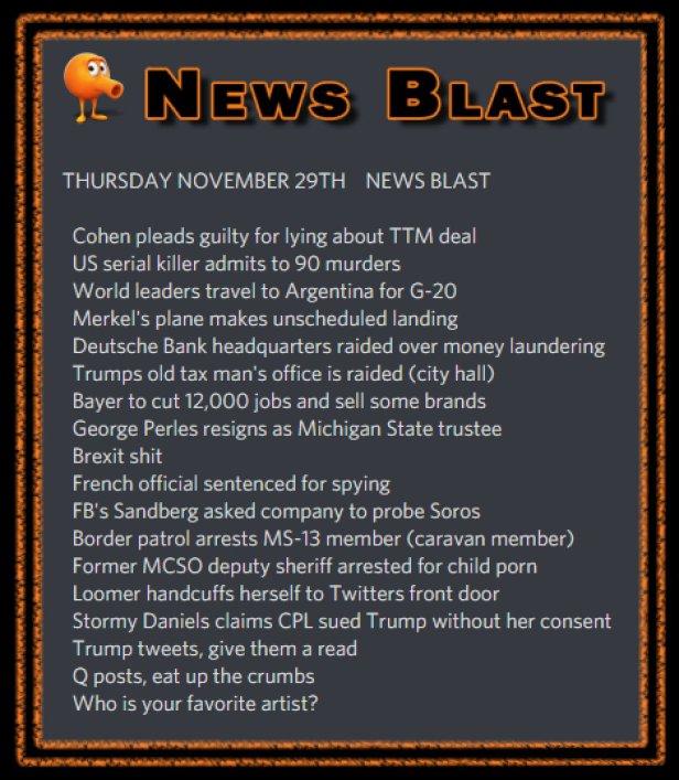 181129 News Blast by ENoCH