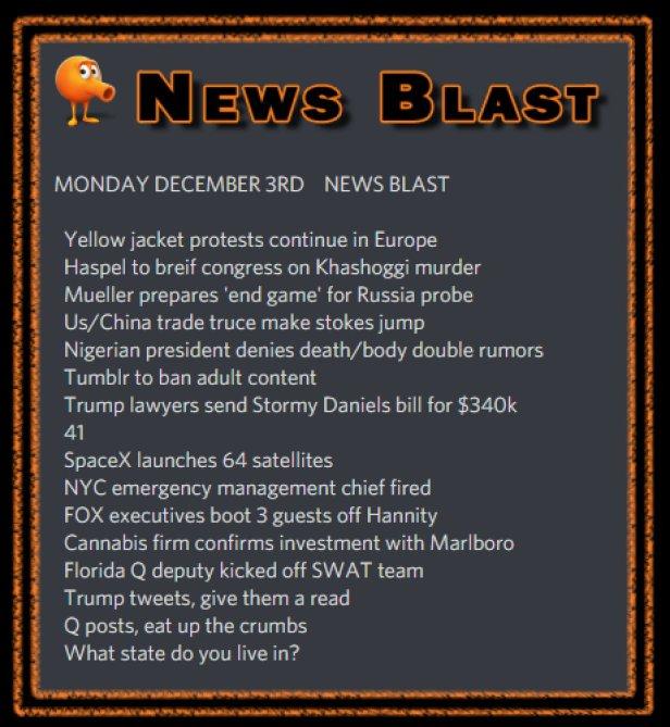 181203 News Blast by ENoCH
