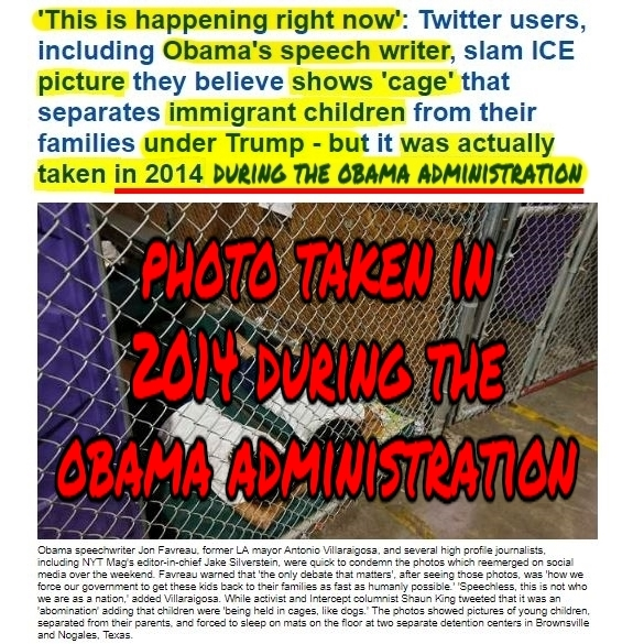 .9 Children in US Concentration Camp Prison during Obama 2014 not TrumpHL During ObamaPMT