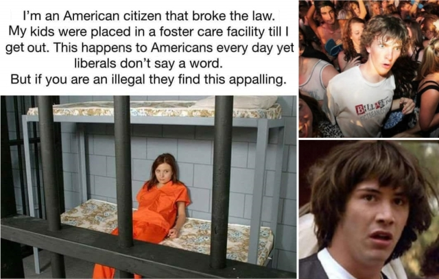 ! Immigrant Children 2014 Separated at the Border Clarity Clearance Conspiracy Keanu