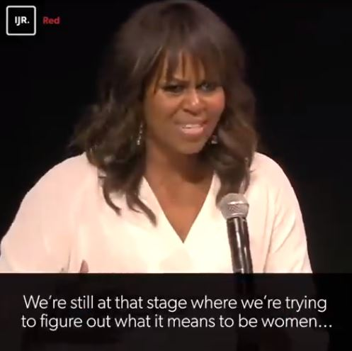 181122 Michelle Obama is trying to figure out what it