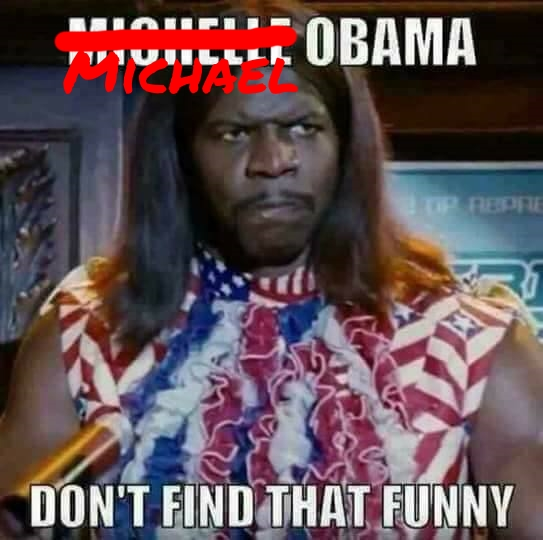 ^2 Michelle Obama Don't Find That Funny 1 MICHAEL