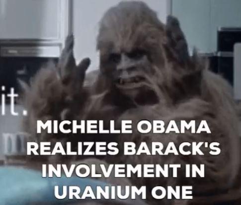 ^9 Michelle Obama Bigfoot Barack Obama's Involvement in Uranium One