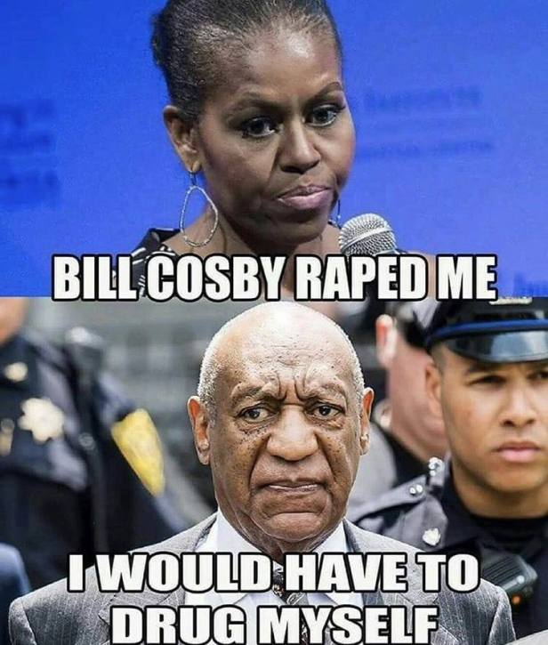 Bill Cosby would have to drug himself to do Michael Robinson