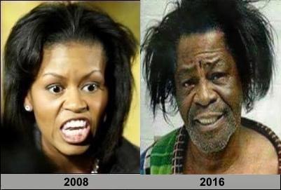 + Comparison Michelle Obama and James Brown